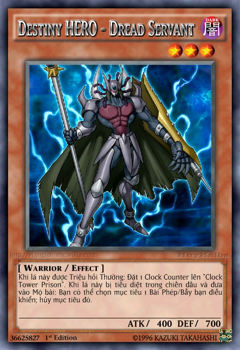 Destiny HERO - Dread Servant