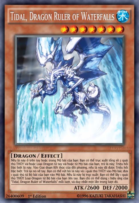 Tidal, Dragon Ruler of Waterfalls