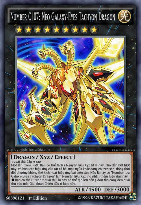 Number C107 Neo Galaxy-Eyes Tachyon Dragon