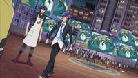 Ep023 Yusaku going to help Dark Onizuka