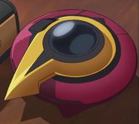 Takeru Homura's duel disk