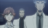 Ep028 Baira, Faust and Kogami looking