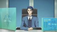Ep002 Akira watching Cyberse Wizard