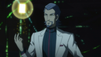 Ep010 Dr. Kogami sending a card to Revolver