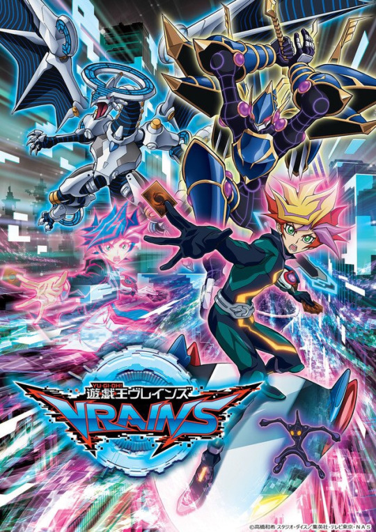 Poster for Yu-Gi-Oh! VRAINS