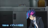 Ep043 Yusaku collapsing after walking out