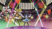 Ep033 Blue Angel activates Trickstar Light Arena