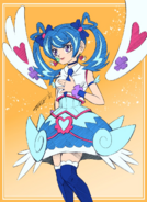 Blue Angel drawn by Tomonaga