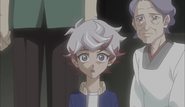 Ep052 Young Takeru with his grandmother