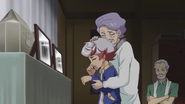 Ep061 Young Takeru crying with his grandparents