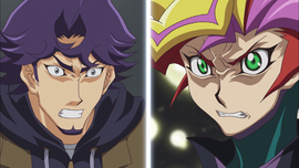Ep018 Playmarker and Shoichi angry