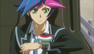 Ep027 Yusaku getting his duel disk