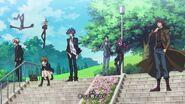 Ed 4 Yusaku and takeru with everyone