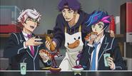 Op 2 Takeru flame Kusanagi Ignis and Yusaku