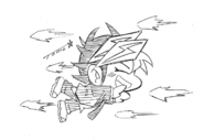 Chibi Yusaku drawn by Tomonaga