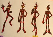 Flame body ref