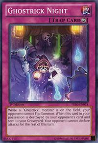 YuGiOh! TCG karta: Ghostrick Night