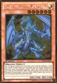 YuGiOh! TCG karta: Lightpulsar Dragon