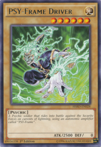 YuGiOh! TCG karta: PSY-Frame Driver