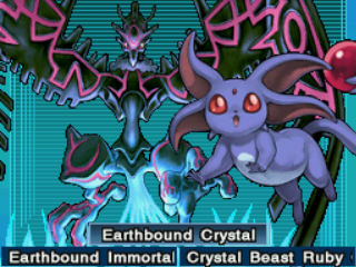 Crystal Beast Ruby Carbuncle