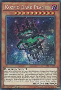 YuGiOh! TCG karta: Kozmo Dark Planet