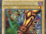 Right Leg of the Forbidden One