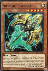 YuGiOh! TCG karta: Artifact Lancea