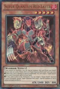 YuGiOh! TCG karta: Super Quantum Red Layer