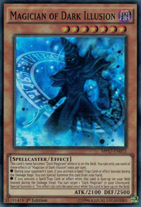 YuGiOh! TCG karta: Magician of Dark Illusion