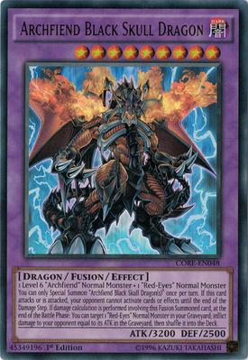 Archfiend Black Skull Dragon CORE