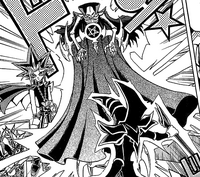 Dark Magic Curtain on Dark Yugi's side