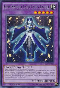 YuGiOh! TCG karta: Gem-Knight Lady Lapis Lazuli