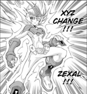 Zexal power (manga)