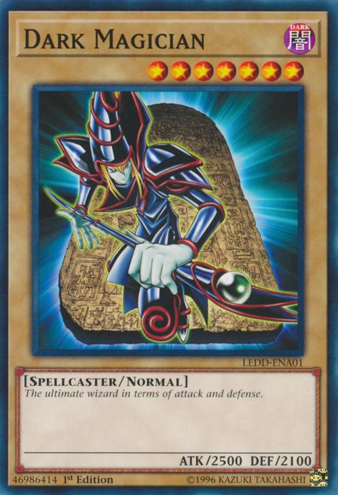 The Dark Magician Card