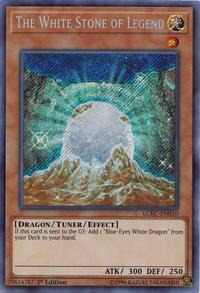 YuGiOh! TCG karta: The White Stone of Legend