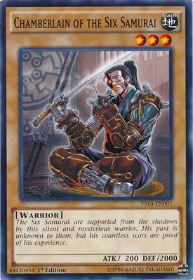 Chamberlain of the Six Samurai YS14