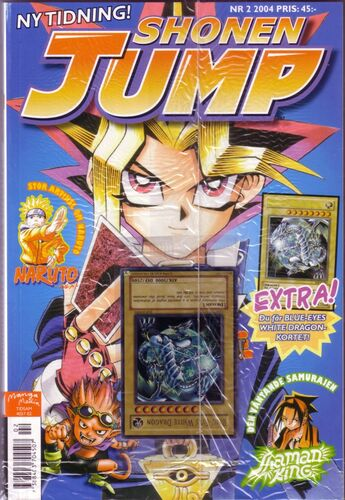 Swedish <i>Shonen Jump</i> 2004, Issue 3