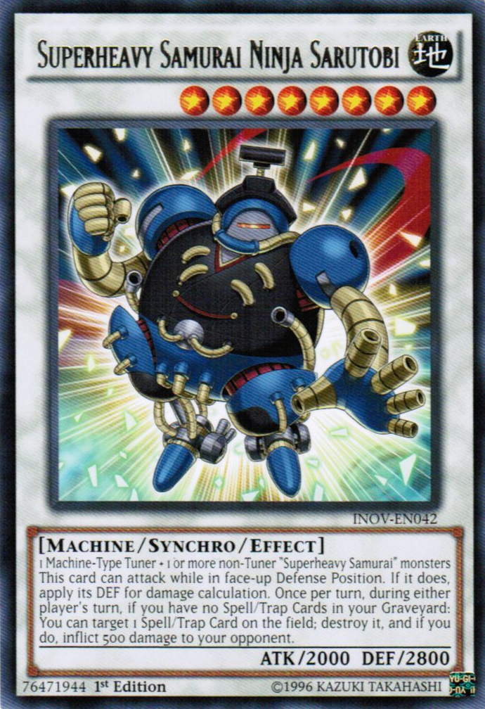 Card Gallery Superheavy Samurai Ninja Sarutobi Yu Gi Oh