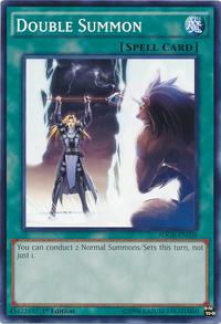 YuGiOh! TCG karta: Double Summon