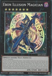 YuGiOh! TCG karta: Ebon Illusion Magician