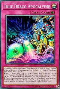 YuGiOh! TCG karta: True Draco Apocalypse