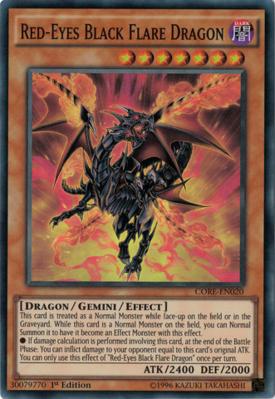 RedEyes Black Flare Dragon CORE