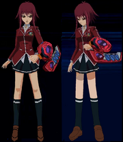 Teenage Akiza Full Body