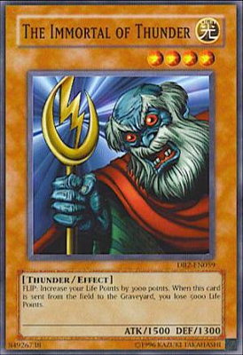The Immortal of Thunder DB2