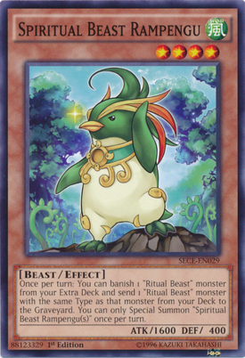 Spiritual Beast Rampengu SECE