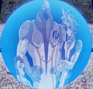Yu-Gi-Oh! 5D's 119 Team New World