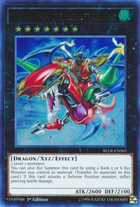 YuGiOh! TCG karta: Gaia Dragon, the Thunder Charger