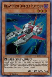 YuGiOh! TCG karta: Heavy Mech Support Platform