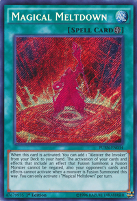 YuGiOh! TCG karta: Magical Meltdown