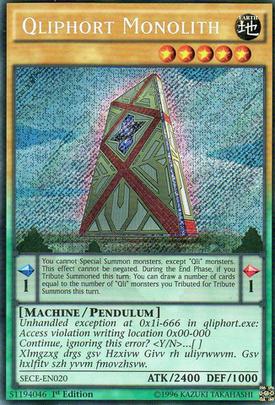 Qliphort Monolith SECE